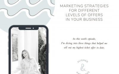 Marketing Strategies for Different Levels of Offers in Your Business